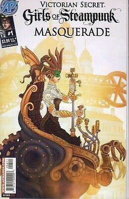 Victorian Secret: Girls of Steampunk: Masquerade # 1  (Girls Of Steampunk)