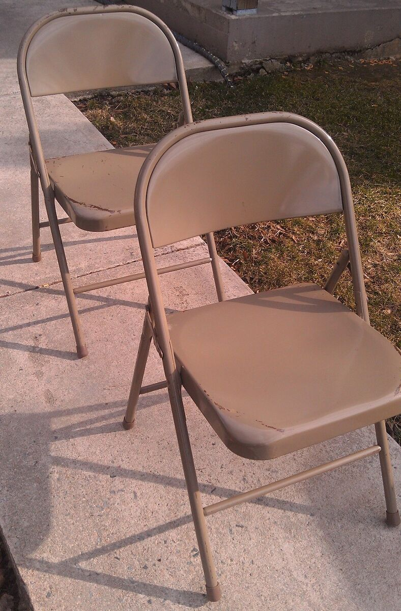 Commercial Grade Folding Metal Chairs