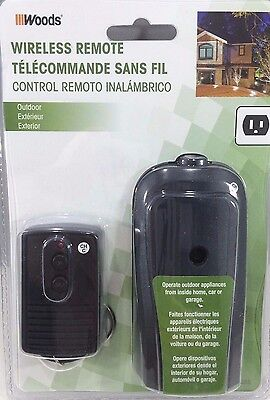 Woods Outdoor Wireless Remote Control