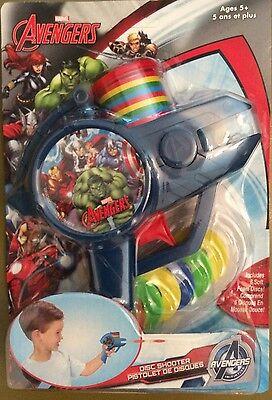 Avengers Foam Disc Shooter includes 4 foam discs Toy Party Favor - Foam Disc Shooter