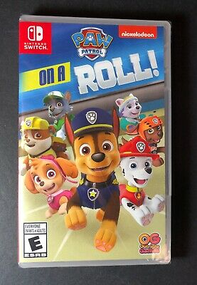 PAW Patrol on a Roll (Nintendo Switch) NEW](Paw Games)