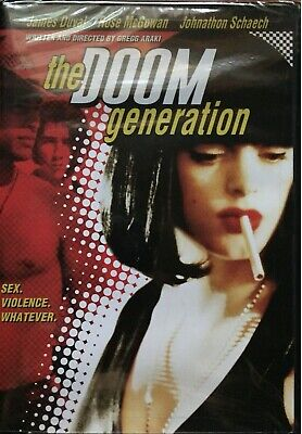 The Doom Generation (1995) Gregg Araki James Duvall Rose McGowan UNCUT! NEW!