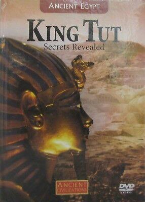 King Tut : Secrets Revealed (ANCIENT EGYPT # 19) (DVD, Hardcover Book) NEW