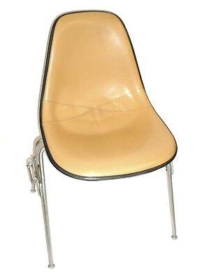 Herman Miller Leather Bucket Chair Stackable Wchair-to-chair Interlock Legs6