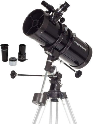 Celestron - PowerSeeker 127EQ Telescope - Manual German Equatorial Telescope