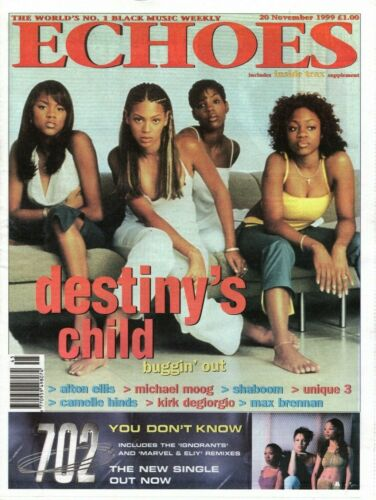 Echoes Newspaper 20 November 1999   Destiny