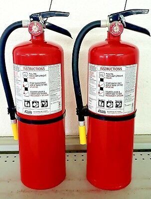 10lb Fire Extinguisher Abc Dry Chemical - Kidde - New Tag - Two Pack