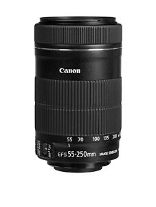 Canon EF-S 55-250mm f/4-5.6 IS STM, like new