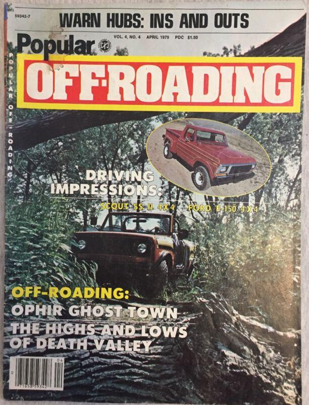 Popular Off-Roading Magazine April 1979