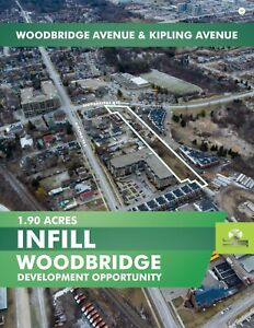 Exellent Development opportunity Located in Upscale Woodbridge