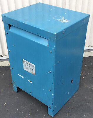 Ward 15kva Dry Type Transformer 1 Single Phase H.v. 480 L.v. 48 Delta