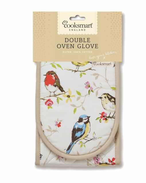 Cooksmart Dawn Chorus Double oven glove