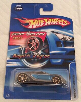 Hot Wheels 2006 #144 Bugatti Veyron FTE Faster Than Ever
