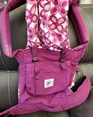 Ergo Original Baby Carrier - Maroon Purple Pink