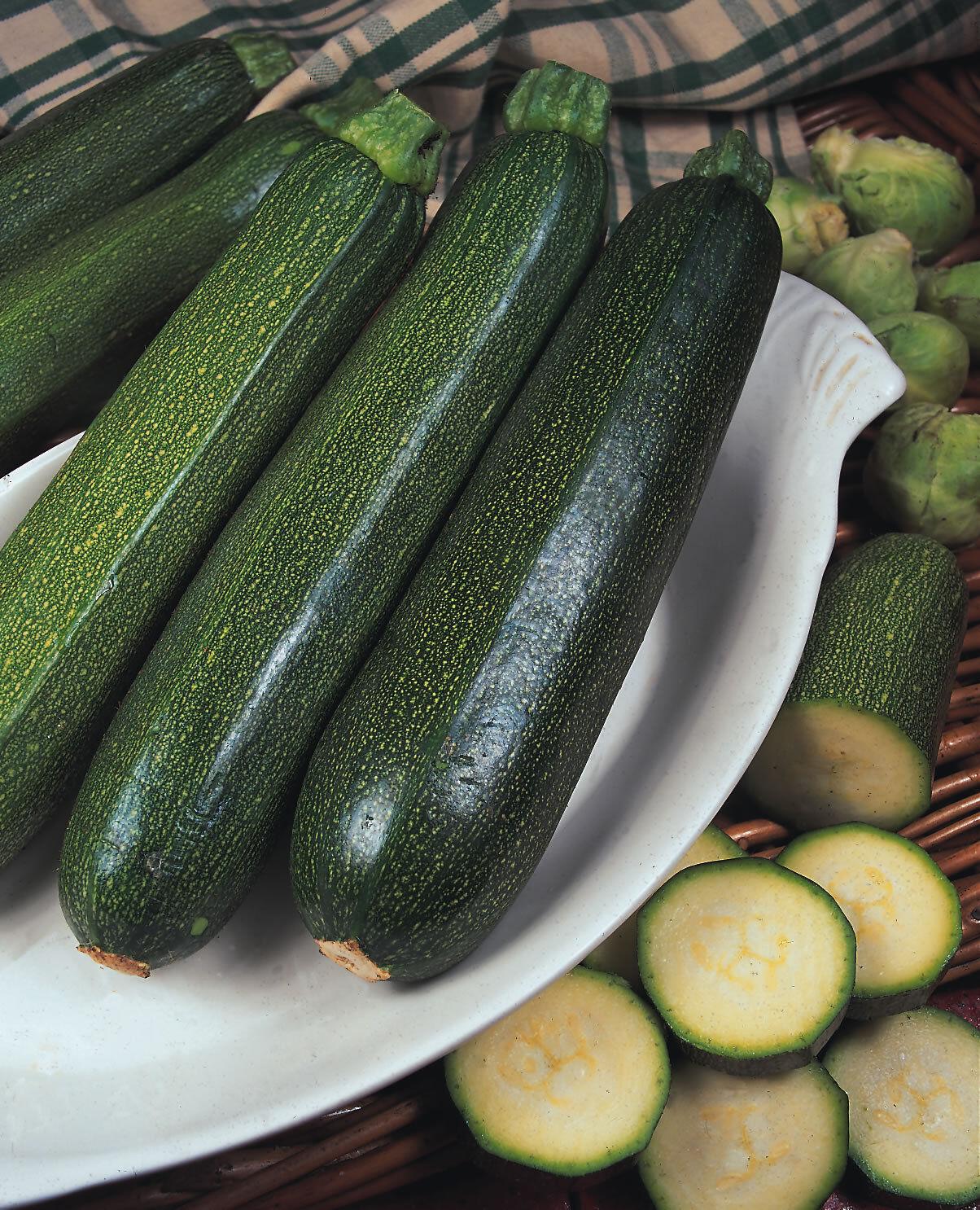 Vegetable Seeds Marrow Zucchini Courgette Nefertiti Garden Pictorial Packet UK