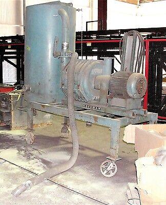 Hoffman Portable 20 Hp Heavy Duty Industrial Vacuum System