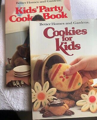 1983 1985 Better Home And Gardens Cookies For Kids & Kids Party Cook