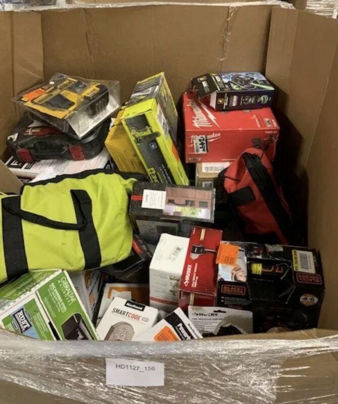 HUGE LOT OF Amazon  Liquidation Box Electronics and General Merchandise