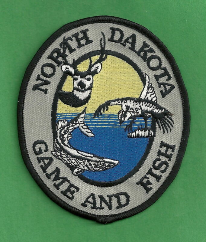 NORTH DAKOTA GAME & FISH ENFORCEMENT SHOULDER PATCH