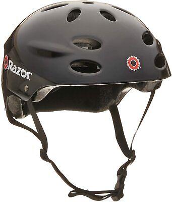 Razor Youth Skateboard/Scooter/Bike Sport Helmet Glossy Black