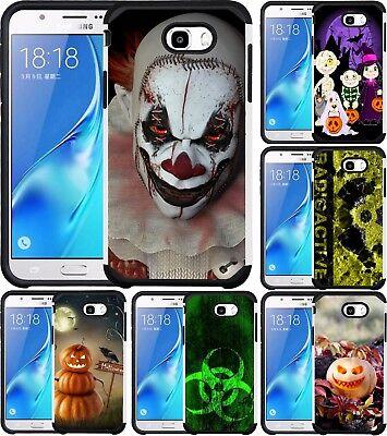 For Samsung Galaxy J3 Emerge/J3 Prime/J3 Luna Pro Case Phone Cover Halloween
