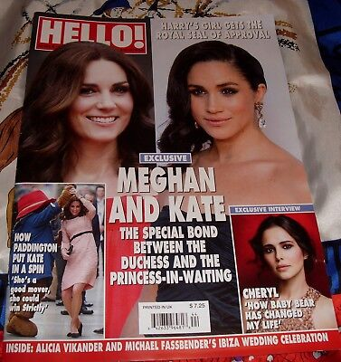 Hello Meghan Markle Kate Middleton Dancing Paddington Michael Fassbender Magazin