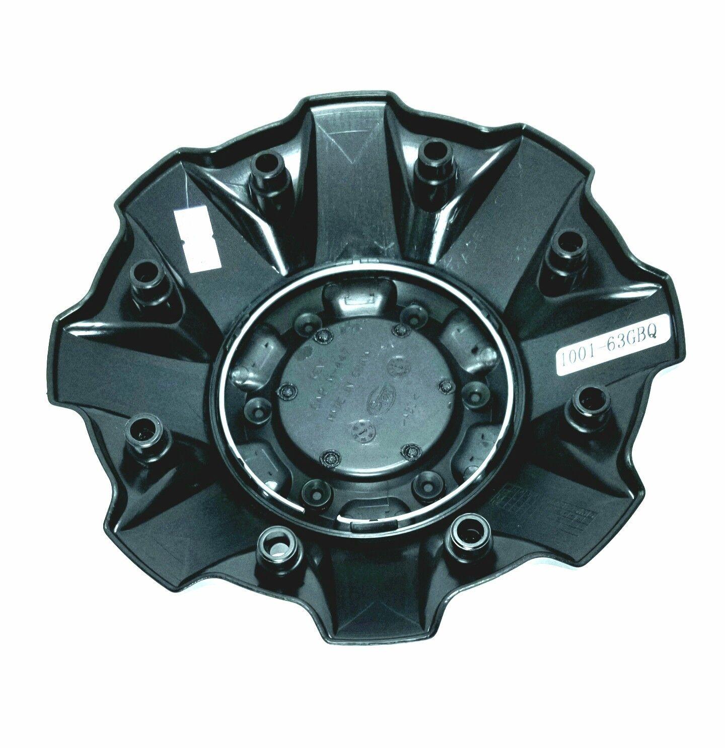 Fuel Offroad Gloss Black w/ Red Logo Center Cap 8 Lug 1001-63GBQ 1001-63B