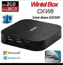 Wintel W8 dual OS Windows 10 & Android Google TV Box Computer Southbank Melbourne City Preview