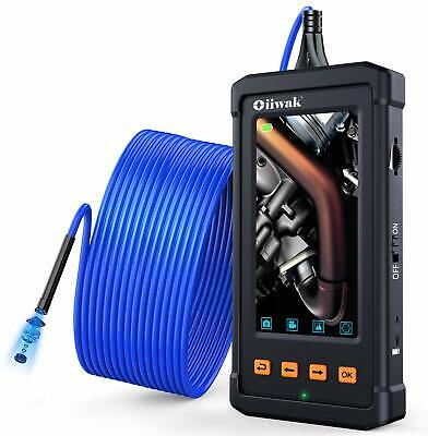 Oiiwak Industrial Endoscope Inspection Camera Pipeline Drain Sewer Duct 33 Ft