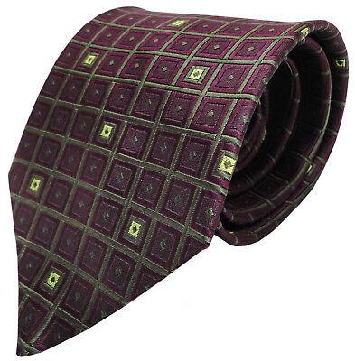 nkrawatte in weinrot dunkelrot braun (Dünne Rote Krawatte)