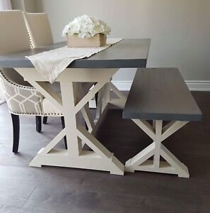 Farmhouse Harvest Table