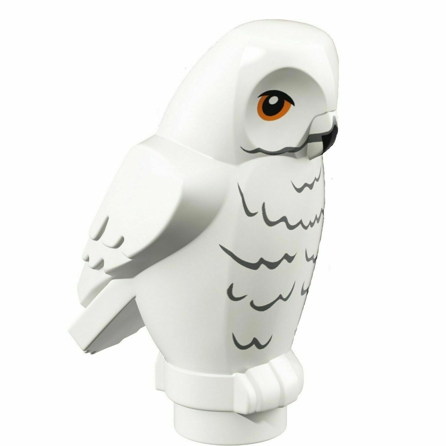 LEGO Harry Potter Hedwig Errol Bird Animals Set of 3 White Brown Gray Owls