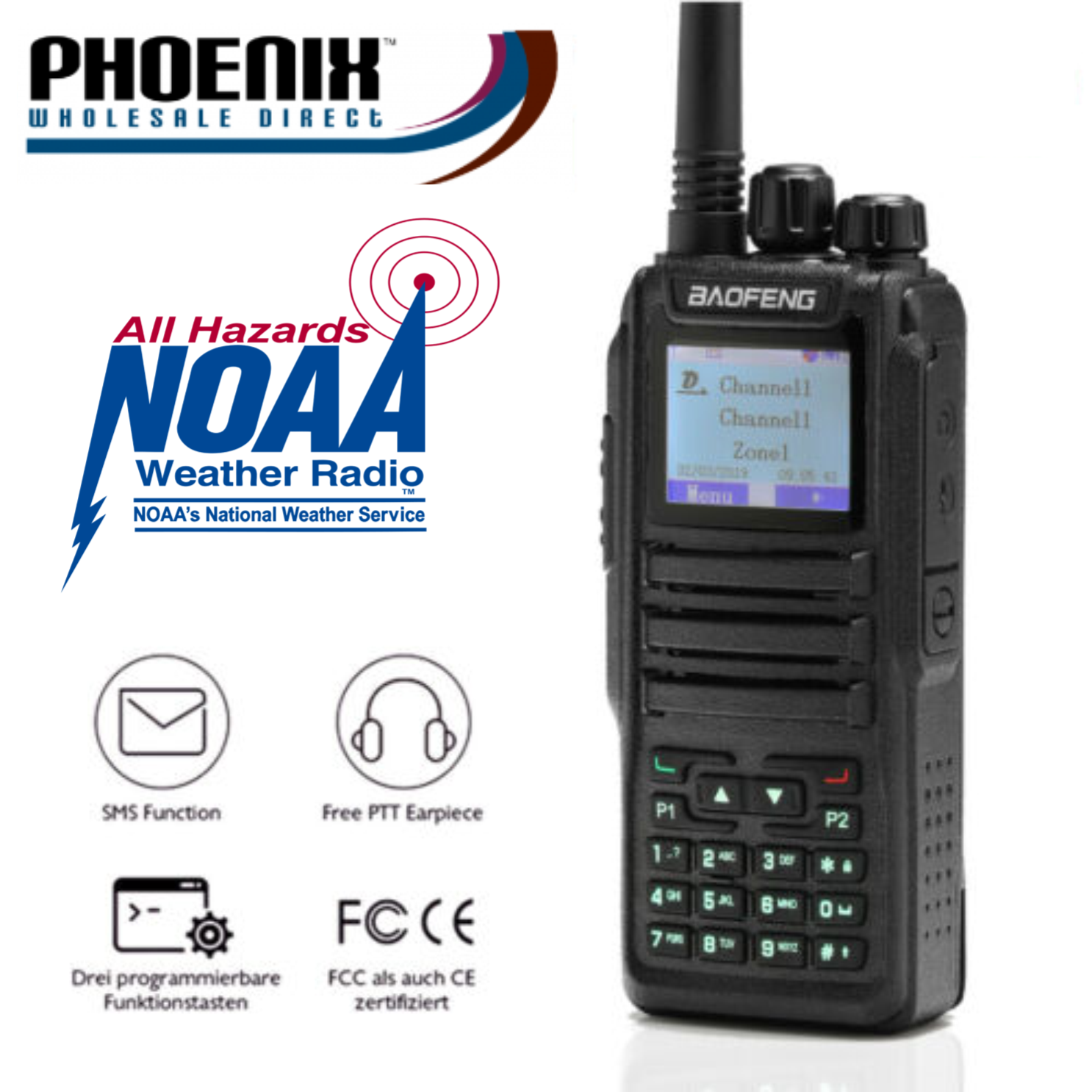 Digital Handheld Police Scanner - 3000 Channel - MAX POWER S