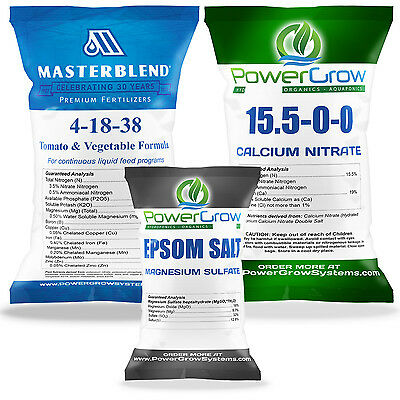 Masterblend 4 18 38 Fertilizer Master Combo Kit  12 5 Pounds