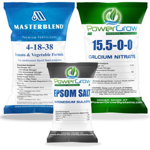 MASTERBLEND 4-18-38 Fertilizer Official MASTER BLEND ® COMBO KIT (2.5 Pounds)