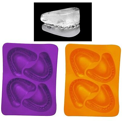 Halloween Ice Cube Molds (Halloween Skeleton Teeth Ice Cube Tray Molds Party Decoration Drinks)