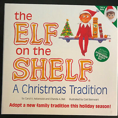 The Elf on the Shelf: Christmas Tradition: Boy (2009, Hardcover) Brand New - Elf On The Shelf Adult