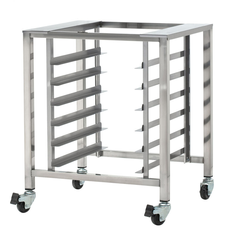 Moffat SK32, Turbofan Oven Stand with Pan Slides and Casters, NSF, for Turbofan