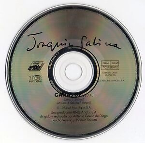 JOAQUIN-SABINA-034-GANAS-DE-034-RARE-SPANISH-PROMOTIONAL-CD-SINGLE-PANCHO-VARONA