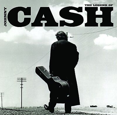 JOHNNY CASH - THE LEGEND OF JOHNNY CASH (21 GREATEST HITS): 2LP VINYL ALBUM SET
