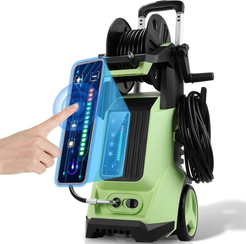 3800PSI Smart Power Washer 2.8 GPM Adjustable Electric Pressure Washer Cleaner