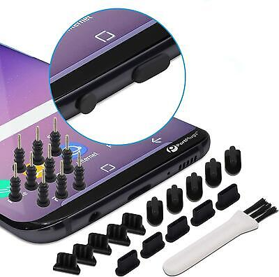 Dust Port Covers 25 Pack Plug Set Compatible with iPhone Android USB C SIM Tools