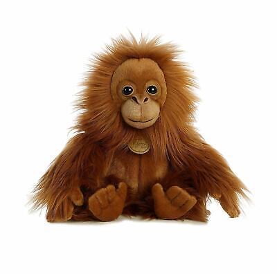 11 Inch Miyoni Orangutan Baby Plush Stuffed Animal by Aurora