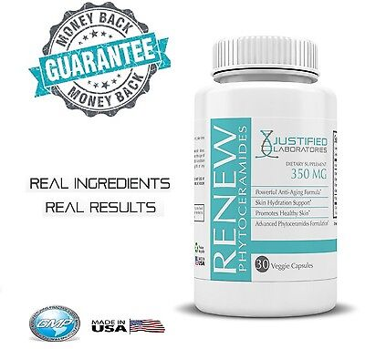 Phytoceramides Renew Anti Aging Revitalize Facial Skin All Natural Made in USA