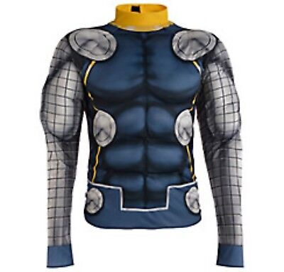 Erwachsene Avengers Kostüm (Avengers Unglaubliche Thor Muskel T-Shirt Erwachsene Kostüm Marvel Comics)