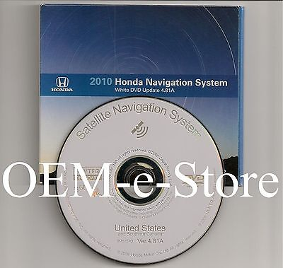 2010 Update 2007 2008 2009 2010 Honda Ridgeline RTL RTS RTX Navigation DVD Map