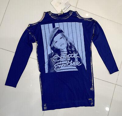 SO TWEE BY MISS GRANT Graphic Print Dress w/ Tags, Sz44 (us14)
