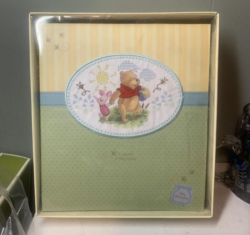 Winnie The Pooh Disney Stepping Stones Baby Photo Album NEW
