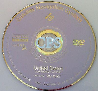 06 07 09 10 HONDA ACCORD EX SEDAN COUPE NAVIGATION MAP NAV DISC CD '12 DVD 4.A2✅