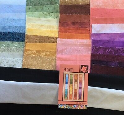 Sedona quilt kit 2 yards + 40 pre-cut  charm squares 40